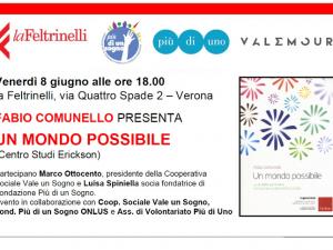 8 giugno ore 18:00<br>presentazione libro in la Feltrinelli