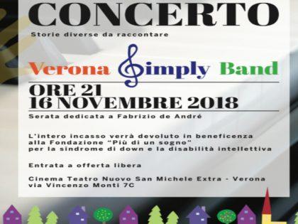 Concerto Storie diverse da raccontare di Verona Simply Band