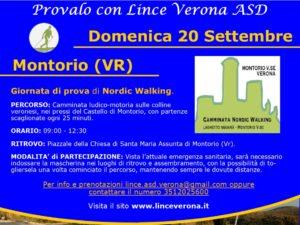 NORDIC WALKING A VERONA il 20 settembre